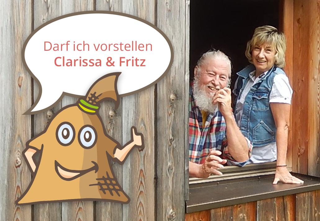 Fritz Reichel und Clarissa Naar